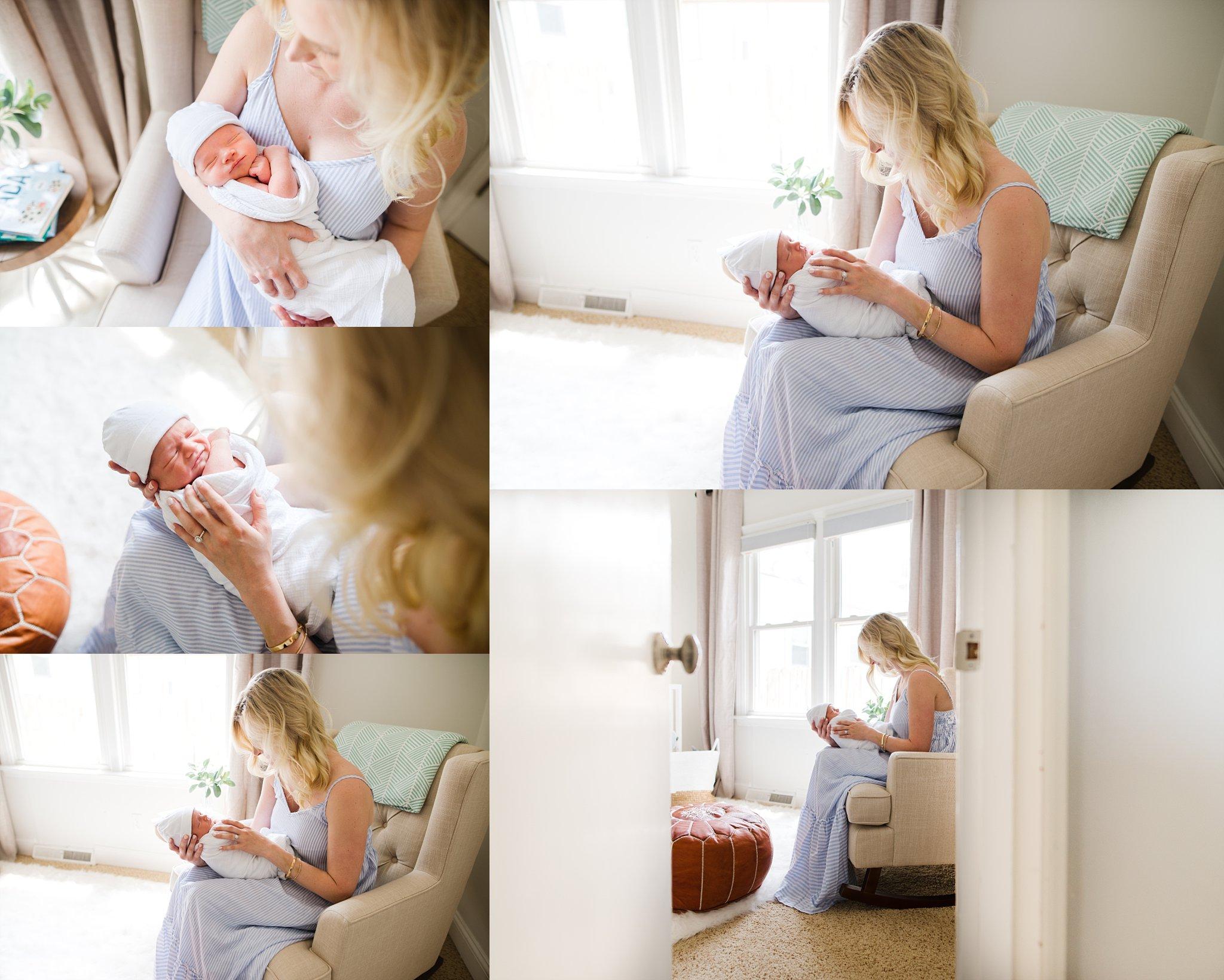 2018-05-Newborn Lifestyle Photographer {New Albany Indiana Newborn Photographer}