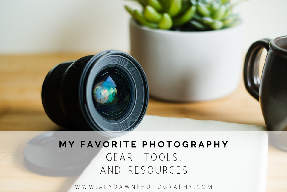 My Favorite Photo Gear, Tools, and Resources