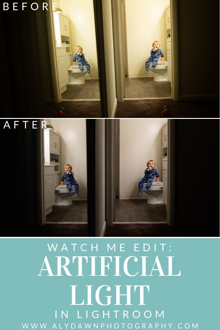 Watch Me Edit: Artificial Light in Lightroom